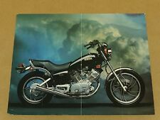 Vintage 1981 Yamaha Virago 750 Motorcycle Brochure Specifications Pamphlet Flyer