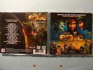 Danny Elfman EPIC Score Soundtrack CD