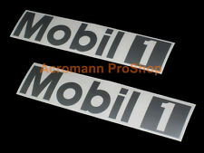 "2x 15"" 38cm MOBIL One decal sticker 1 motor oil DTM for porsche vw car audi 911"