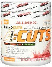 ALLMAX A:CUTS  Amino Charged Energy Booster Dietary Supplement, Goji Berry Ma...