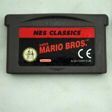 Jeu SUPER MARIO BROS. pour Nintendo Game Boy Advance GBA