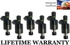 Genuine Rochester Set Of 6 Fuel Injectors For Buick Chevy Oldsmobile 3.1L 3.4L