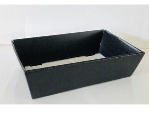 Hamper Tray Black Gift Boxes DIY Christmas Easter Gift Cardboard Hamper Tray