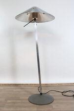 Steh Lampe Boden Leuchte Alu Massiv Dimmer Vintage Design 80er Jahre