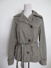Übergangsjacke Jacke ESPRIT Trenchcoat Stil Military M ca 36/38 khaki oliv  /M