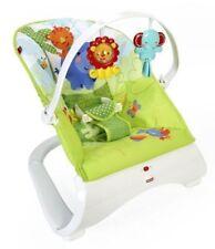 Baby bouncer Rainforest Friends Comfort Curve boxedFischer Price
