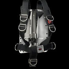 Hollis C45 Wing Black with Hollis Aluminum Backplate and Hollis Solo Harness New