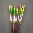 Traditional Cedar Arrows - POC - 50-55 LB Spine - 5/16 Dia. Special Reserve