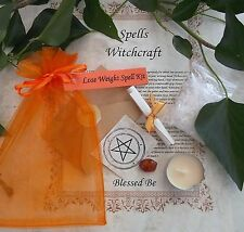 Lose Weight   Spell Kit  Votive Candle  Magic Wicca Created by a Witch