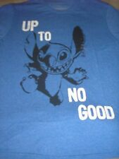 Men's Large Stitch Tee ~ Up To No Good ~ NWT Disney Store