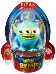 "PIXAR REMIX Toy Story ALIEN - Monsters Inc. SULLEY 4"" NEW VHTF RARE! #03 Disney"