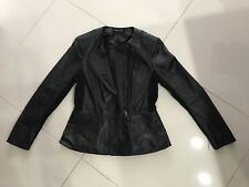 Joseph Janard Womans Leather Jacket size small