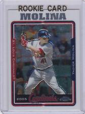 YADIER MOLINA Topps Chrome ROOKIE CARD St. Louis Cardinals Baseball RC!