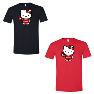 San Francisco 49ERS Hello Kitty T Shirt Adult & Youth