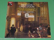 Bach-Piet van Egmond Orgel-noti Orgel pezzi toccata scanalatura adagio EMI LP