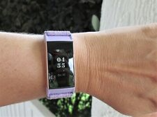 FitBit Charge 3 Special Edition Rose Gold With small Lavender And Black Band