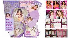 XXXL Disney Violetta Kit de Fiesta Set Tagebuch Regalo Pegatina 104 Piezas