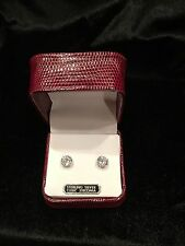 Tivoli Sterling Silver Cubic Zirconia Earrings ~ PERFECT GIFT~ New In Gift Box!