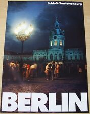 GERMAN POSTER - BERLIN - CHARLOTTENBURG CASTLE SCHLOß