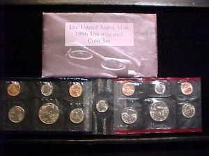 1996-98 3 US Mint Coin Sets BU 30 Coins
