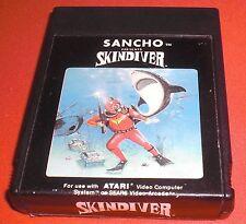 Atari 2600 Skindiver [Sancho] Rare *JRF*