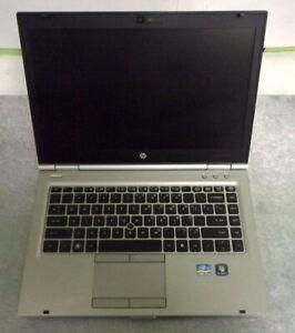 HP EliteBook 8460p Intel Core i5-2540M 2.60GHz No Ram/HDD/Batt/PS
