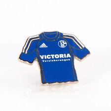 FC Schalke 04 Pin Trikot VIKTORIA Emblem Wappen Nadel blau/silber NEU&OVP