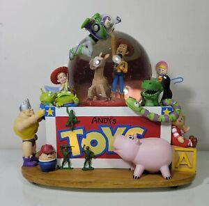 Toy Story 2 Snow Globe & Music Box (Disney/Pixar, 1995) | Working!