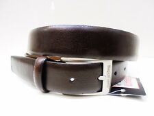 Cintura uomo Laura BIAGIOTTI Vera Pelle Marrone | Genuine Leather Belt Men