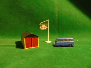 MATCHBOX GARAGE AND VAN AND ESSO SIGN