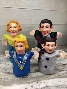 Vintage Hand Puppets Mr. Rogers Neighborhood Punch and Judy ? Plastic/Vinyl Head