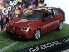 Schuco VW Golf V GOAL, orange-met. 3-tür., dealer model - 1/43
