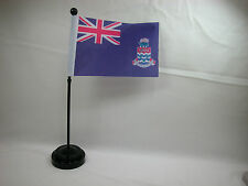 """4""""x6"""" Hand Held Table Top Flags International  Flag - Cayman Island Closeout"""