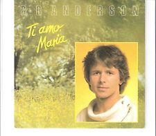 G. G. ANDERSON - Ti amo, Maria