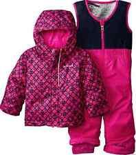 NEW COLUMBIA BUGA SET SNOWSUIT SET BABY GIRL 6-12 MONTH 2 PIECE WARM!  FREE SHIP