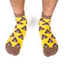NEW Smiling Emoji Poo Novelty Socks