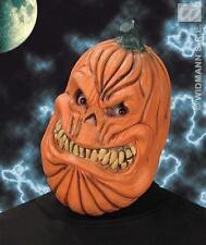 Calabaza Naranja Mascarilla Scary Halloween Vestido De Lujo