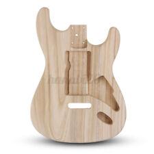 DIY Unfinished Fender Guitar Body Polished Wood Blank Guitar Barrel For Guitars