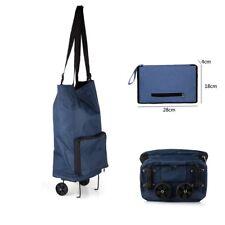 Strong Wheelie Shopping Trolley Festival Essential Folding Durable Wheeled Bag
