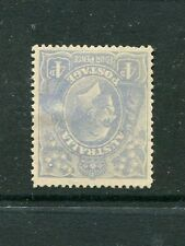 4'BLUE SINGLE WM INVERTED FINE MINT