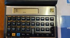 Hp 12C Financial Calculator excellent condition Complete with new battery.