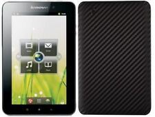 Skinomi Carbon Fiber Black Tablet Skin+Screen Protector for Lenovo IdeaPad A1