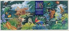 40349) AUSTRALIA 1994 MNH** Zoological garden s/s