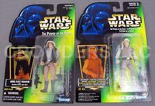 Star Wars PotF Luke Skywalker Hoth Gear & Rebel Fleet Trooper Holo Cardback NIP