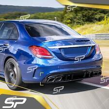 SP > C43 Edition Diffusor + Auspuffblenden für Mercedes Benz C Kl. W205 S205 AMG