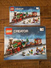 Manuals/instructions only! Lego 10254 Creator Winter Christmas Holiday Train