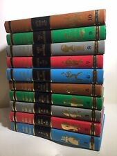 Collier's Junior Classics Hard Cover Book Set Vol:1-10 (1962) Lovely Resource