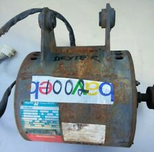Dexter T400 Front Load Washer Motor 1Ph, Dexter P/N: 9376-293-005 Used