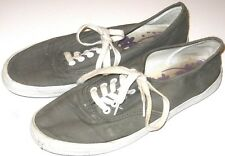City Sneaks Womens Tennis Shoes Canvas Gray Size 8