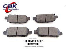 Rear Brake Pads D905 CBK For INFINITI EX35 EX37 FX35 FX37 FX45 G25 G35 G37